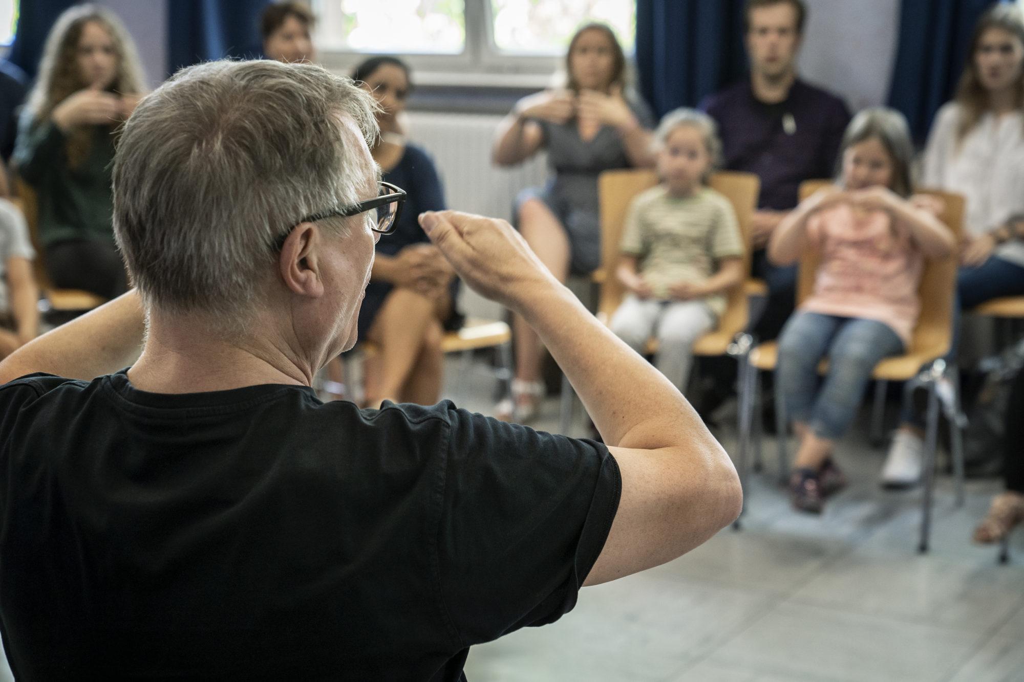 Musikworkshop während des Studientages - Klavier-Festival Ruhr