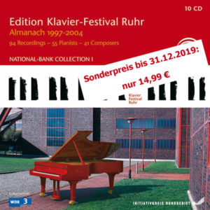 Edition Klavier-Festival Ruhr Vol.1-8 - Almanach 1997-2004 - 10 CDs