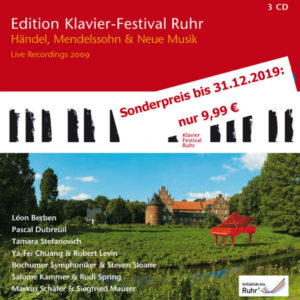 Edition Klavier-FEstival Ruhr Vol. 23 Sonderpreis