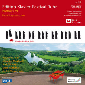 Edition Klavier-Festival Ruhr Vol. 28 - Portraits VI 2010/2011 - 5 CDs