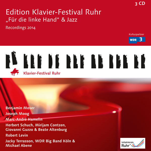 "Edition Klavier-Festival Ruhr Vol. 33 - ""Für die linke Hand"" & Jazz - 3 CDs"