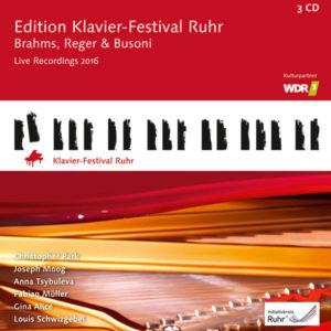 Volume 35 - Brahms, Reger & Busoni