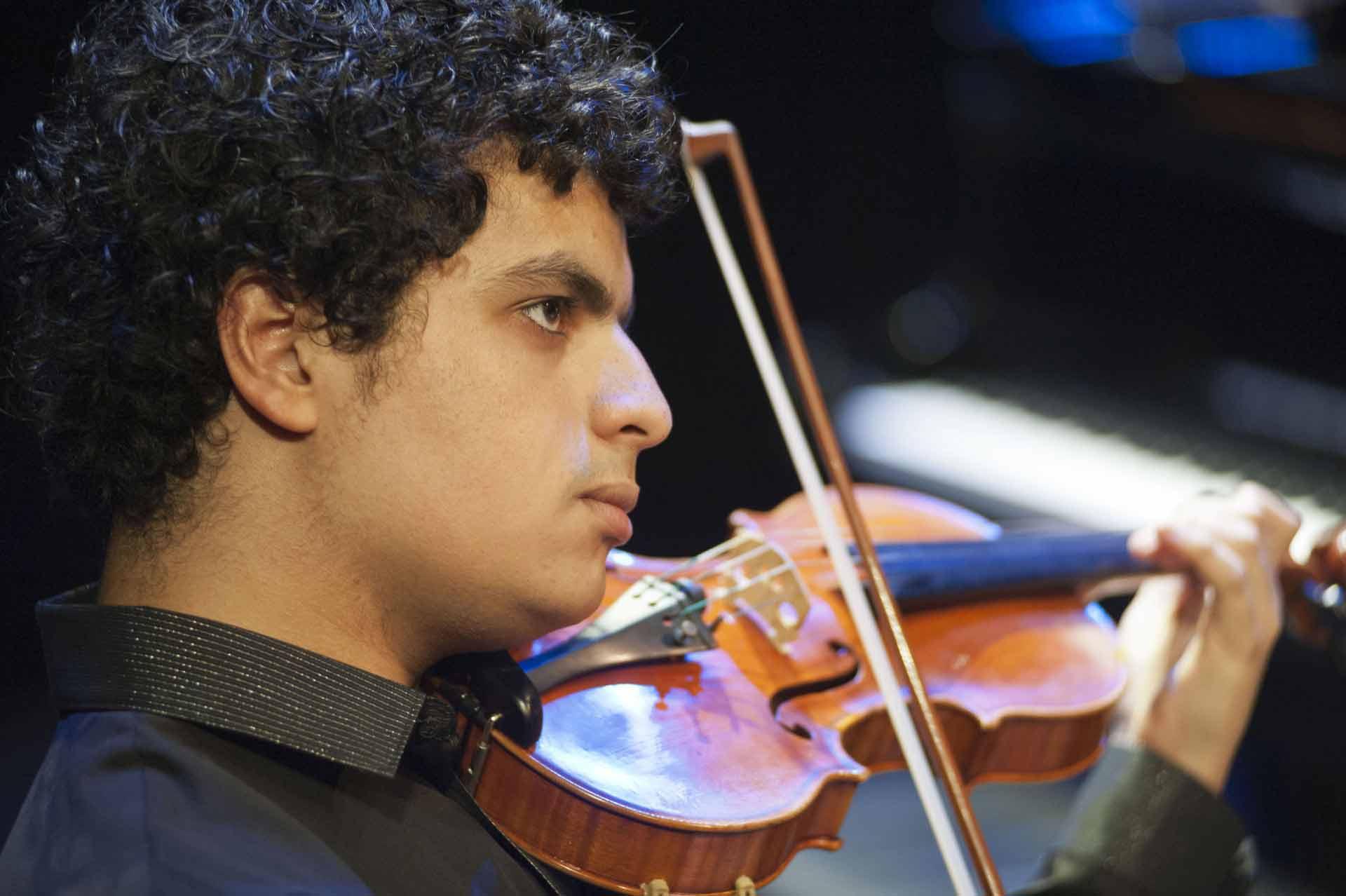Mohamed Hiber (Violine)