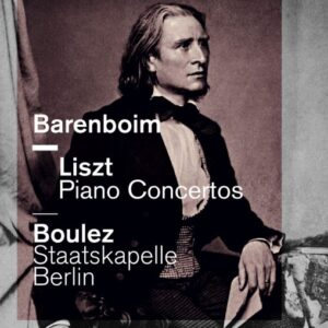 DVD Liszt Klavierkonzerte Barenboim