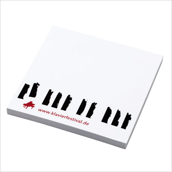 Klavier-Festival Ruhr Klebezettel-Block